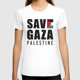 Save Gaza Quote T-shirt