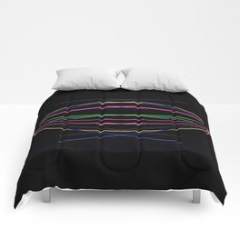 Crossed Wires Comforters