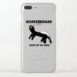 HONEYBADGER Clear iPhone Case