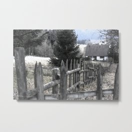 Paysage-F1 Metal Print