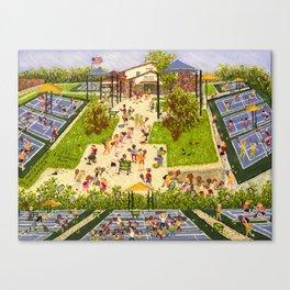 Tennis, Anyone Canvas Print