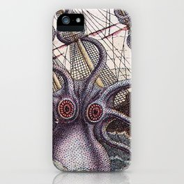 Mythical Giant Octopus  iPhone Case