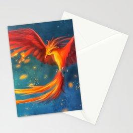 Beautiful phoenix Stationery Cards
