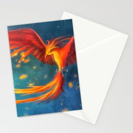 Beautiful phoenix Stationery Cards