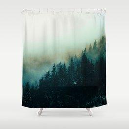 Foggy Magic Shower Curtain