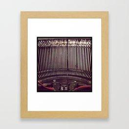 Inner Workings Of The Smith-Corona Framed Art Print
