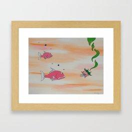"""""""Big Pink"""" Framed Art Print"""