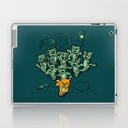 Zombie Cats Laptop & iPad Skin