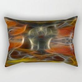 Tarot card XV - The Devil Rectangular Pillow