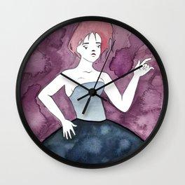 Pale Clown Wall Clock