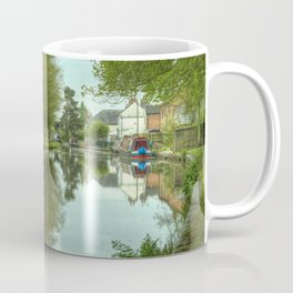 The Canal at Stoke Prior Coffee Mug