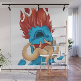 Ryan started the fire - Fire Guy Wall Mural