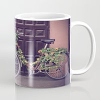 bicycle Mugs featuring Bicycle by INK Photos