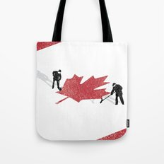 Snow in Canada Tote Bag
