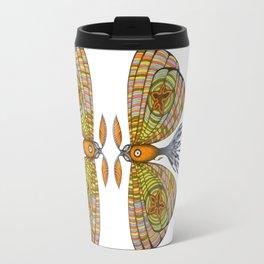 circus moth (ORIGINAL SOLD). Travel Mug
