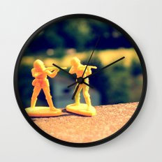Brothers In Till The End Wall Clock