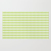 lime Area & Throw Rugs featuring Lime by KatieKatherine