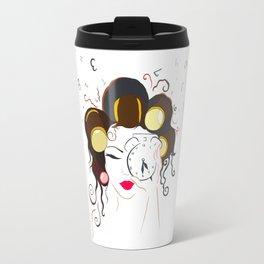 Morning Girl Travel Mug