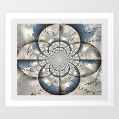 Hypnotic Sky Art Print