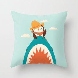 Yeehaw! Throw Pillow