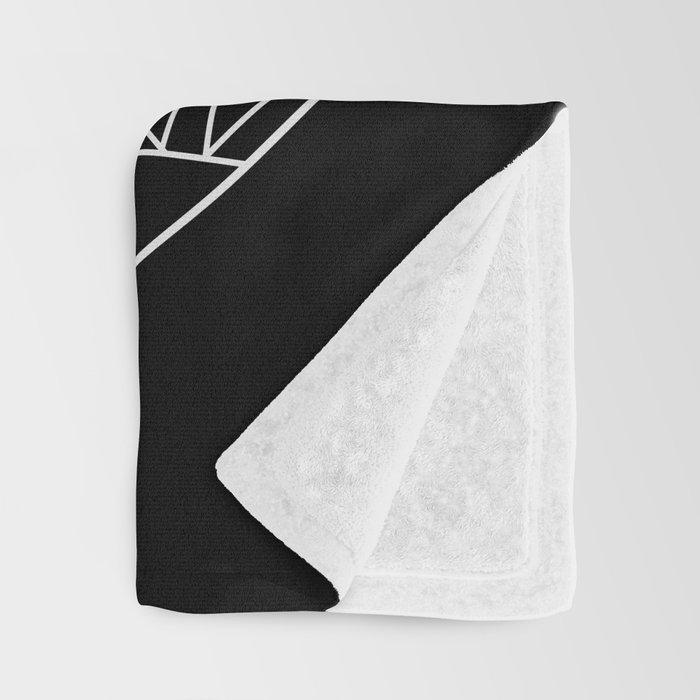 The Night Court Symbol Throw Blanket