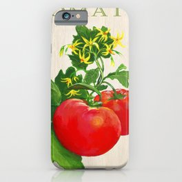 Tomato and its Blossom iPhone Case