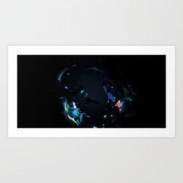 #Transitions XXXI - Chemicals Art Print