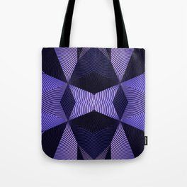 Origami in purple Tote Bag