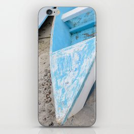 Two boats on the shore iPhone Skin