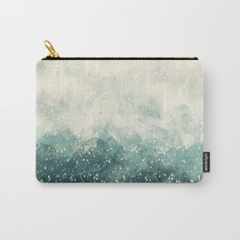 Snowy Summer Carry-All Pouch