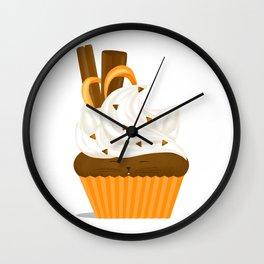 Caramel Cuppycat Wall Clock