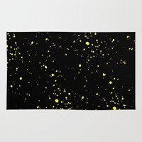 starry night Area & Throw Rugs featuring Starry night by haroulita