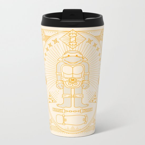 Mikey Pizza Jam Metal Travel Mug
