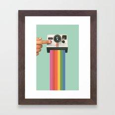 Take a Picture. It Lasts Longer. Framed Art Print