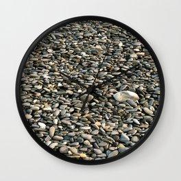 Stone Patterns Wall Clock