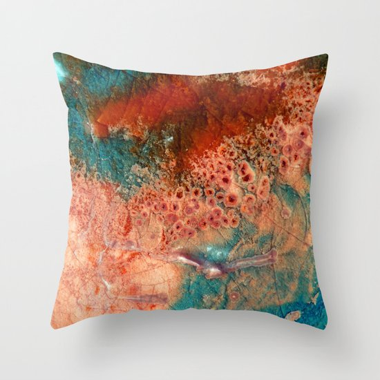Barcelona Texture #1 Throw Pillow