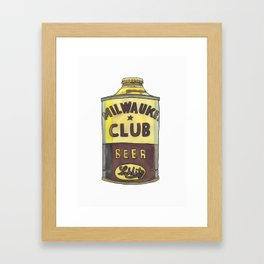 Vintage Beer 1 Framed Art Print