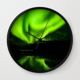 Northern Lights (Aurora Borealis) 4. Wall Clock