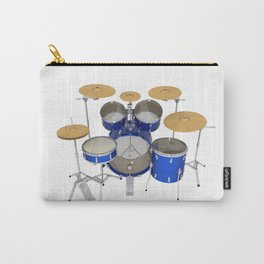 Blue Drum Kit Carry-All Pouch