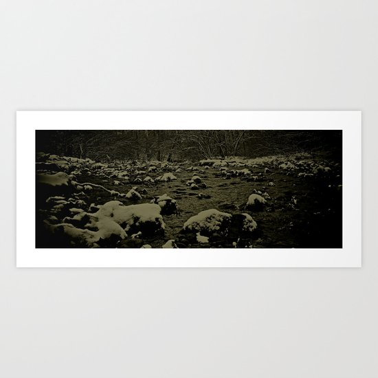 RiverRun Art Print