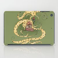 rapunzel iPad Cases featuring Rapunzel by Catru