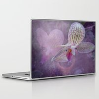 orchid Laptop & iPad Skins featuring Orchid by Judith Lee Folde Photography & Art