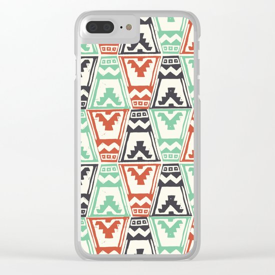 Totem Clear iPhone Case