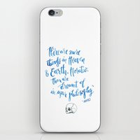 hamlet iPhone & iPod Skins featuring Hamlet Shakespeare Quote by Hey Bernadette