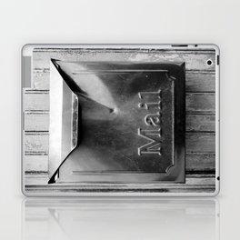 Mail - Black and White Laptop & iPad Skin