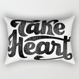 take heart Rectangular Pillow