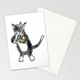 String Meowtet: Monty Stationery Cards