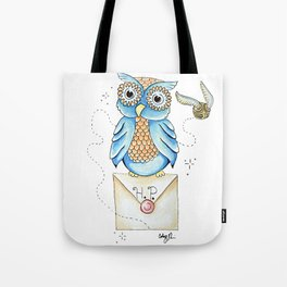 Harry Potter - Hedwig Owl and Golden Snitch Tote Bag
