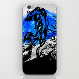 WOLF OF THE NIGHT iPhone Skin