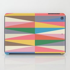 Blooming Triangles iPad Case